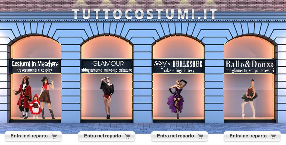 seleziona per originale migliore a buon mercato bene Tutto Costumi Carnevale 2019, Shop online Costumi in ...