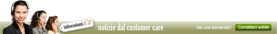Notizie dal customer care
