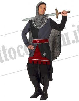 5aa4fc550e533 Costume da cavaliere medievale grigio