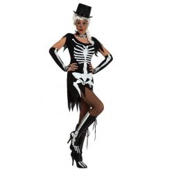 Costume MISS SKELETON CABARET