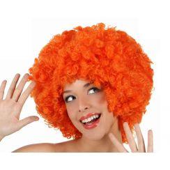 Parrucca AFRO arancione