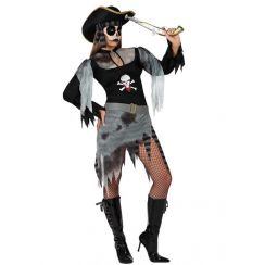Costume Piratessa del mare FANTASMA