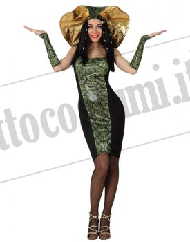 bb03d793dc4354 Costume da donna SERPENTE