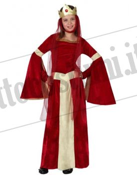 Costume DAMA MEDIEVALE bambina
