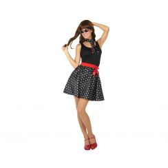 buy popular 90ef0 2f861 Costume ANNI 50 nero