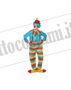 Costume PAGLIACCIO AZZURRO