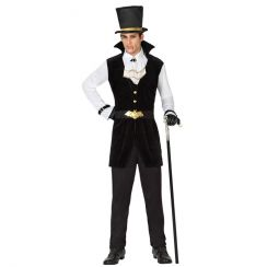 Costume VAMPIRO GENTLEMAN del 1800