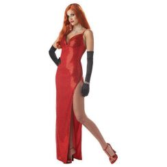 Costume diva sexy SILVER SCREEN SINSATION Jessica Rabbit
