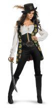 Costume ufficiale ANGELICA deluxe - Pirati dei Caraibi