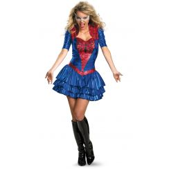 Costume ufficiale SPIDER GIRL Sexy Deluxe