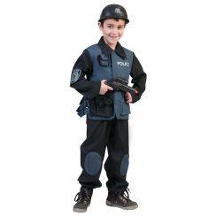 Costume POLIZIOTTO FORZE SPECIALI bambino