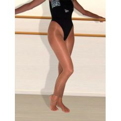 Collant senza piede Giselle FITNESS 19