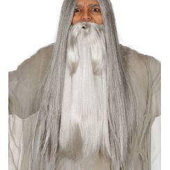 Barba grigia extra lunga