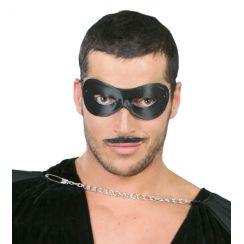 Maschera moschettiere nero