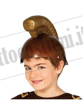 Elmo romano bronzo bambino