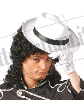Cappello GANGSTER bianco fascia nera 82ae7fa5b37c