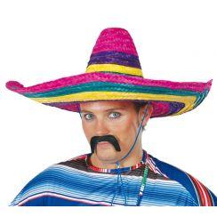 Sombrero MEXICANO 50 cm MULTICOLOR