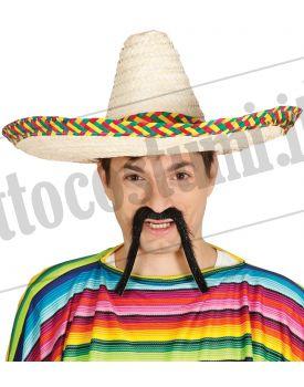 Sombrero messicano chiaro cm 50