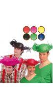 Cappello SPAVENTAPASSERI in paglia colorato