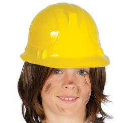 Casco giallo da lavoro bambino
