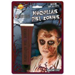 Trucco pelle zombie marrone