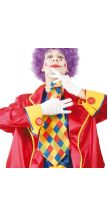 Cravatta smisurata CLOWN ROMBI