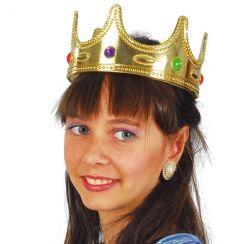 Corona dorata con gemme