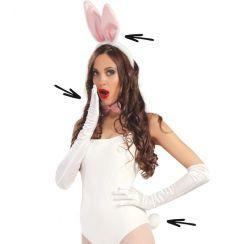 Set coniglietta bianco