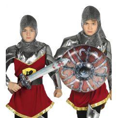 Set SCUDO e SPADA medievale gonfiabile