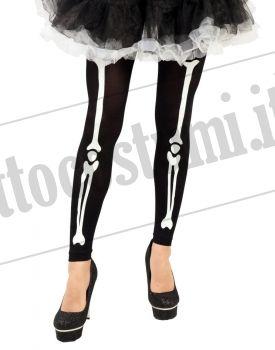 Leggings scheletro