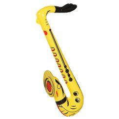 SASSOFONO giallo gonfiabile