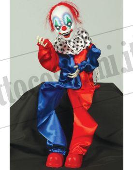 Clown dell'orrore con movimento e suono