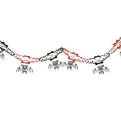 Ghirlanda pipistrelli allegri 15 x 200 cm
