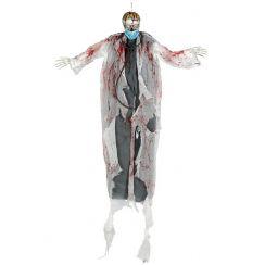 Dott. scheletro con luci 180 cm da appendere