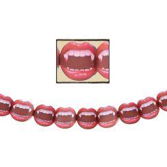 Ghirlanda bocca di vampiro 200 x 27 cm