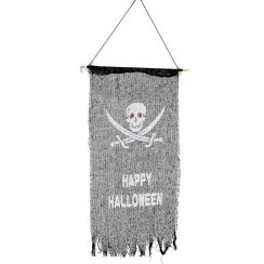 Bandiera PIRATA HAPPY HALLOWEEN 75 X 40
