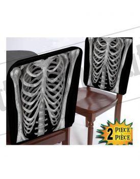 Confezione da 2 coperture per sedie scheletro