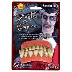 Denti termoplastici da VAMPIRO cattivo