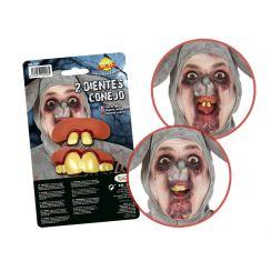 Set 2 denti da coniglio