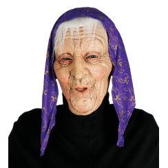 Maschera VECCHIA CON PEZZOLA