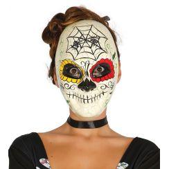 Maschera DIA DE LOS MUERTOS ragnatela