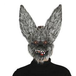 Maschera PIPISTRELLO maligno con pelo