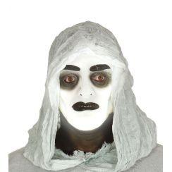 Maschera trasparente uomo fluorescente