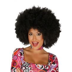 Parrucca AFRO NERA EXTRA
