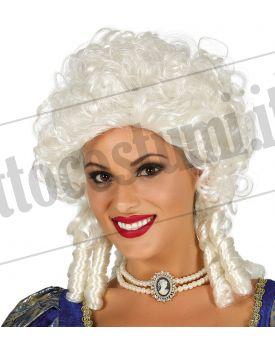 Parrucca nobildonna bianca