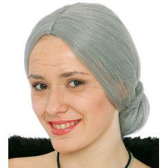 Parrucca da vecchia signora