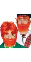 Parrucca IRLANDESE con barba