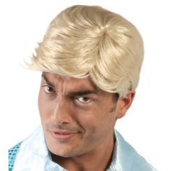 Parrucca uomo biondo chiaro