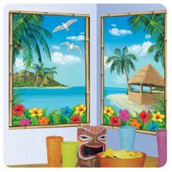 Decorazioni parete paesaggio hawaiano