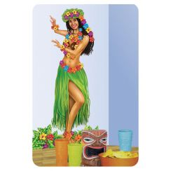 Poster CHICA HAWAIANA